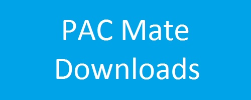 PAC Mate Download-Seite