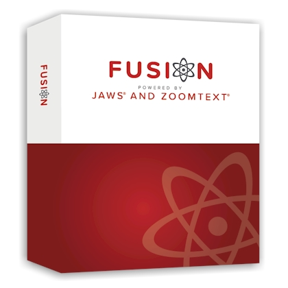 ZoomText Fusion Produktbox